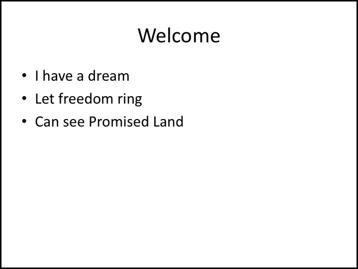 MLK Presentation