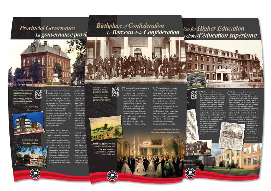 CADC-Charlottetown Commons Display Panels
