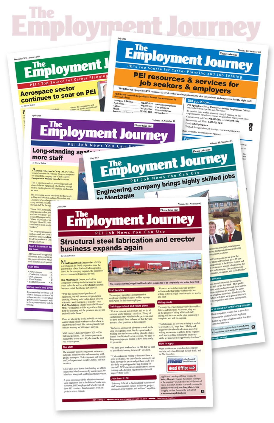 Weekly Publications Employment Journey