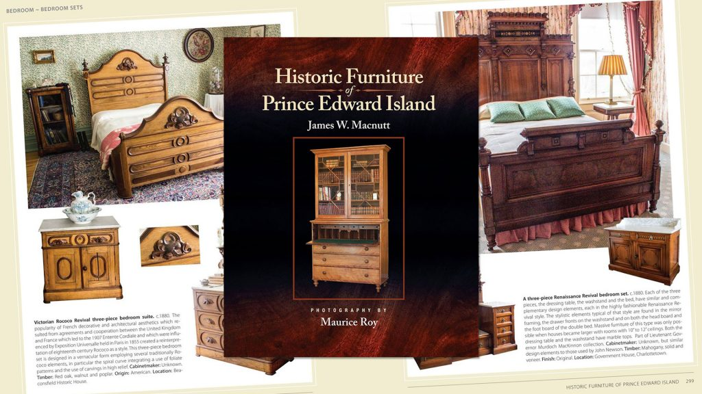 Historic Furniture of PEI book