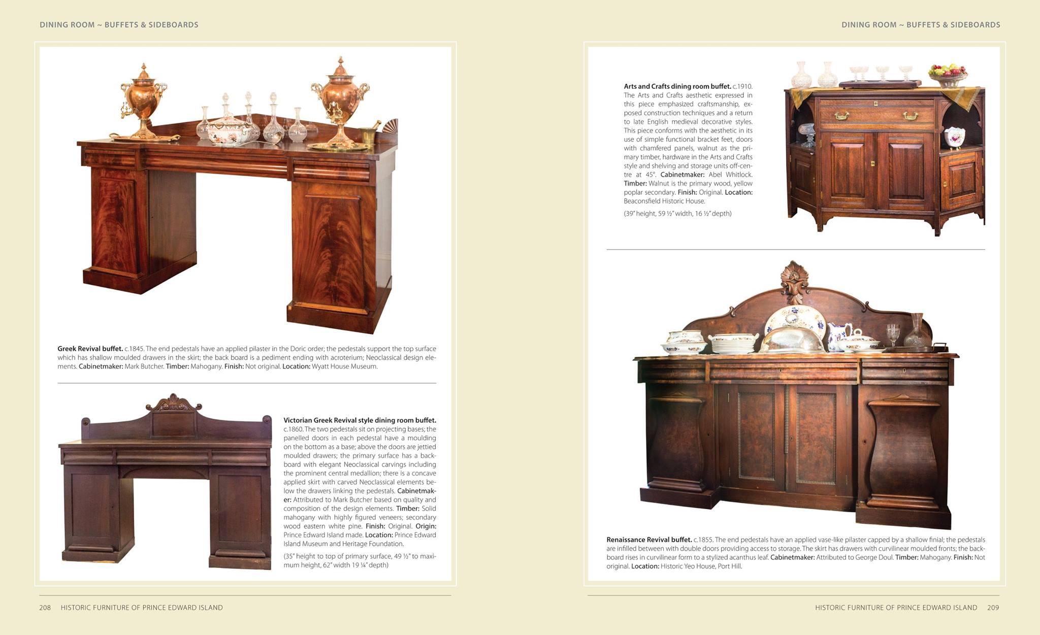 Historic Furniture of PEI