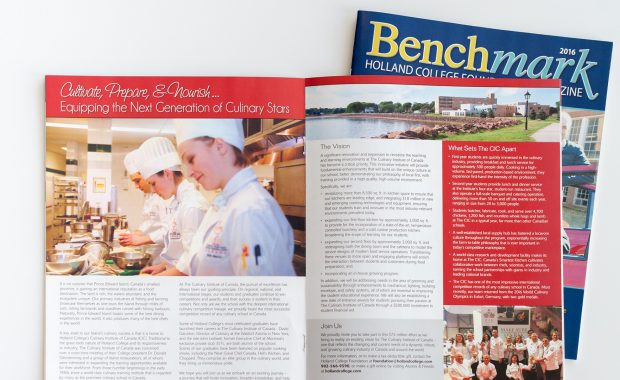Holland College Benchmark Magazine