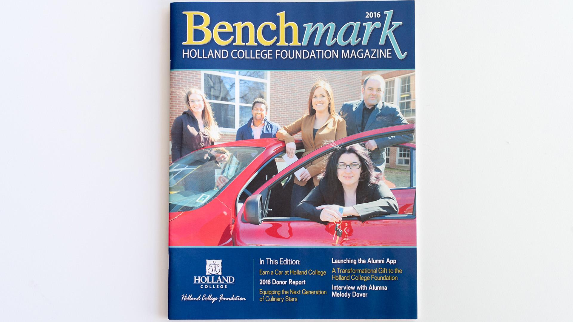 Holland College Benchmark Magazine