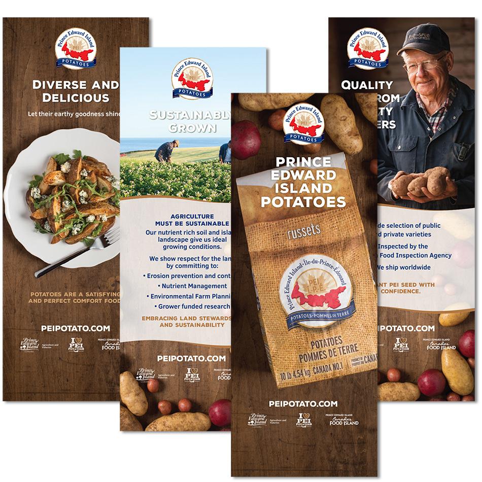 PEI Potatoes banners