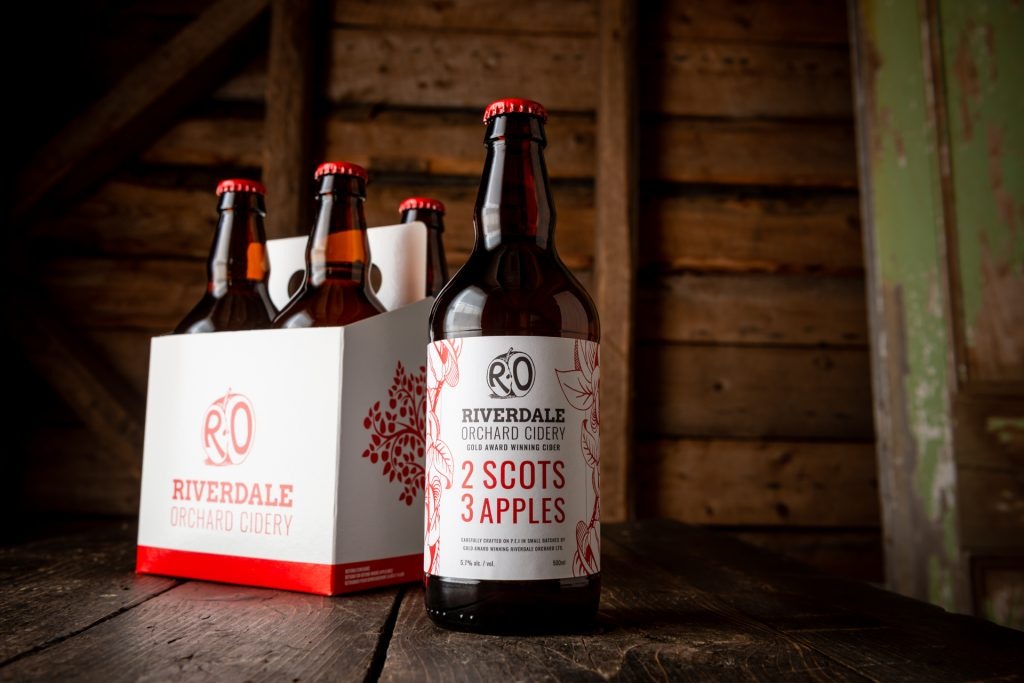 Riverdale Orchard Cidery 2 Scots 3 Apples