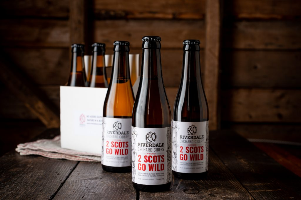 Riverdale Orchard Cidery 2 Scots Go Wild